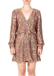 honey clothing punch women s sequins wrap dress at women s clothing store