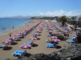 sunbeds in puerto del carmen lanzarote information