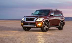 nissan armada dvd player nissan u0027s flagship armada suv goes upscale with overdue makeover