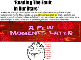 The Fault In Our Stars Meme - the fault in our stars by recyclebin meme center