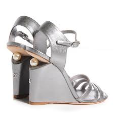 chanel going to the chapel pinterest wedge sandals