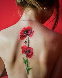 flower tattoos are becoming more and more common for