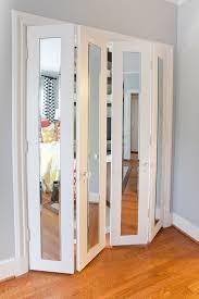 Mirror Sliding Closet Doors Folding Sliding Closet Door With Mirrored Sliding Closet Doors