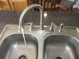 Moen Solidad Kitchen Faucet by Installing A Kitchen Faucet How To Youtube
