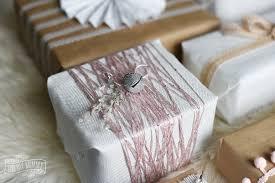 shabby chic christmas gift wrapping ideas 12monthsofdiy the diy