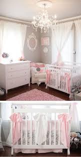 White And Pink Nursery Curtains And Feminine Nursery Nursery Gray And Babies