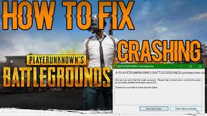 pubg keeps crashing pubg how to fix pubg crashing youtube