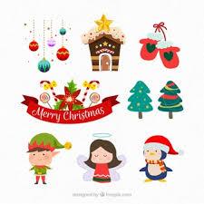 christmas elements vectors photos psd files free download