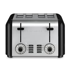 Sunbeam 4 Slice Toaster Review Cuisinart Cpt 340 Brushed Stainless Steel 4 Slice Toaster Free