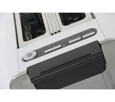 Bosch Black Toaster Buy Bosch Styline Tat8611gb Advantage 2 Slice Toaster White