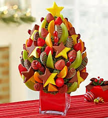 christmas fruit baskets christmas tree fruit bouquet fresh fruit arrangement in salisbury