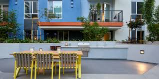 The Backyard Grill by Luxury Apartment Gallery Sofia Los Angeles