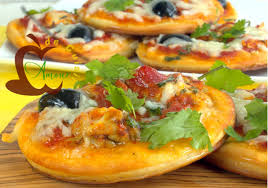 amour de cuisine pizza mini pizza a la cervelle de l agneau recipe pizzas menu and sauces
