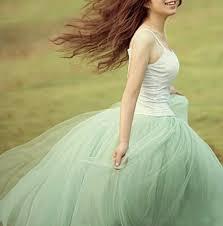 green tulle modern princess mint green mesh tulle skirt