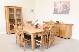 Dining Room Furniture Oak Dining Table Oak Dining Table Leather Chairs Oak Dining Table