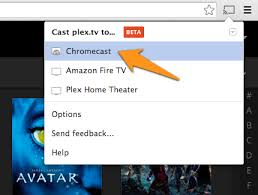 cast extension android cast from browser or desktop plex support