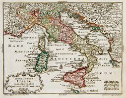 Map Of Puglia Italy by And Lotter Map Of Italy 1762