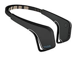 muse the brain sensing headband black
