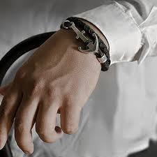 anchor bracelet men images Anchor bracelet men brutal mens anchor from lililio on etsy jpg