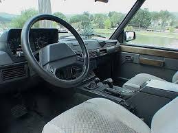 Classic Range Rover Interior 1987 Range Rover