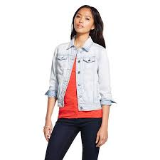 light wash denim jacket womens women s denim jacket light wash denim mossimo supply co juniors