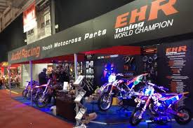 judd motocross racing ehr are a hit at the dirt bike show 2013 ehr tuning