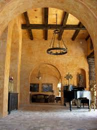 ideas tips attractive venetian plaster enhancing wall treatment astounding venetian plaster with ceiling beams and chandelier also arched doorway