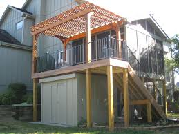 building a shed roof over a deck cabana plans free shed style