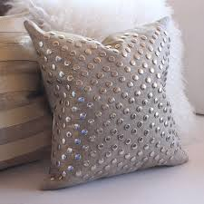 metallic linen stud pillow u0027 u0027 u0027 u0027 u0027 all soft goods decorative