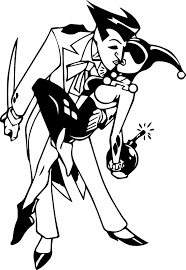 batman and joker coloring pages getcoloringpages com page pics to