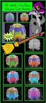 Unique Halloween Crafts - halloween crafts 3d witch u0027s cauldron craft activity packet bundle