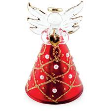 red pearl triangle angel malta christmas decorations malta all