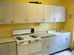 Vintage Kitchen Cabinets For Sale Retro Metal Kitchen Cabinets Cleaning Old Metal Kitchen Cabinets