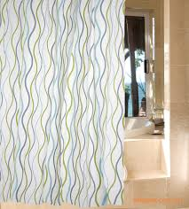 Blue And Green Shower Curtains Blue And Green Wave Shower Curtain Wl1804 Wholesale Faucet E
