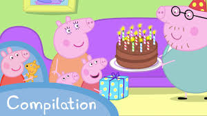 Peppa Pig Sofa by Peppa Pig Episodes Birthday Compilation Cartoons For Children