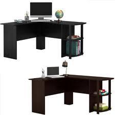 L Shaped Desk Home Office Corner L Shaped Desks Ebay