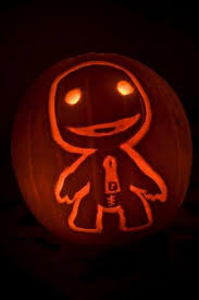 Sackboy Halloween Costume Awesome Ps3 Pumpkin Carvings Ps3 Maven