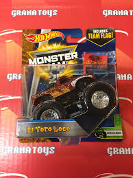 el toro loco 4 10 creatures 2017 wheels monster jam case d