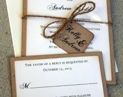 wedding stationery sets wedding invitations rustic wedding invitations boho wedding