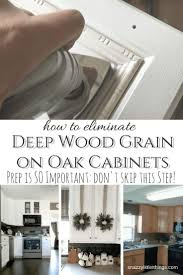 how to clean oak cabinets with tsp remove grain from oak cabinets