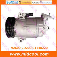 bureau d 騁ude cvc high quality auto ac compressor cvc for 92600 jd200 01140220 in a c
