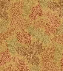 waverly waverly upholstery fabric mosaic leaves tuscan home