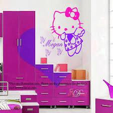 hello kitty fairy personalized wall art sticker decal mural vinyl hello kitty fairy personalized wall art sticker decal mural vinyl butterfly