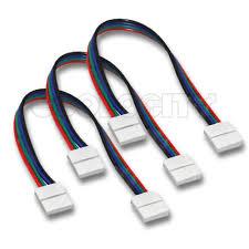 6 rgb ribbon wire ribbon connector for ribbon rgb led