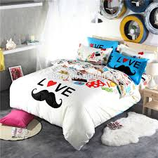 Funny Duvet Sets Mustache Bedding Funny Design Abetterbead Gallery Of Home Ideas