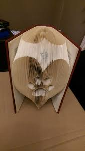 pattern art pdf paw in a heart folded book art pattern pdf book folding book