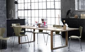 fritz hansen dining table essay table hivemodern com
