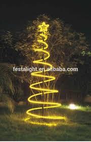 spiral rope light tree spiral rope light tree