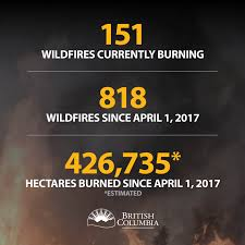 Bc Active Wildfires by Tappen Sunnybrae Fire Department Home Facebook