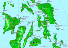 Philippines Map World by Maps Of The Philippines Peter Loud